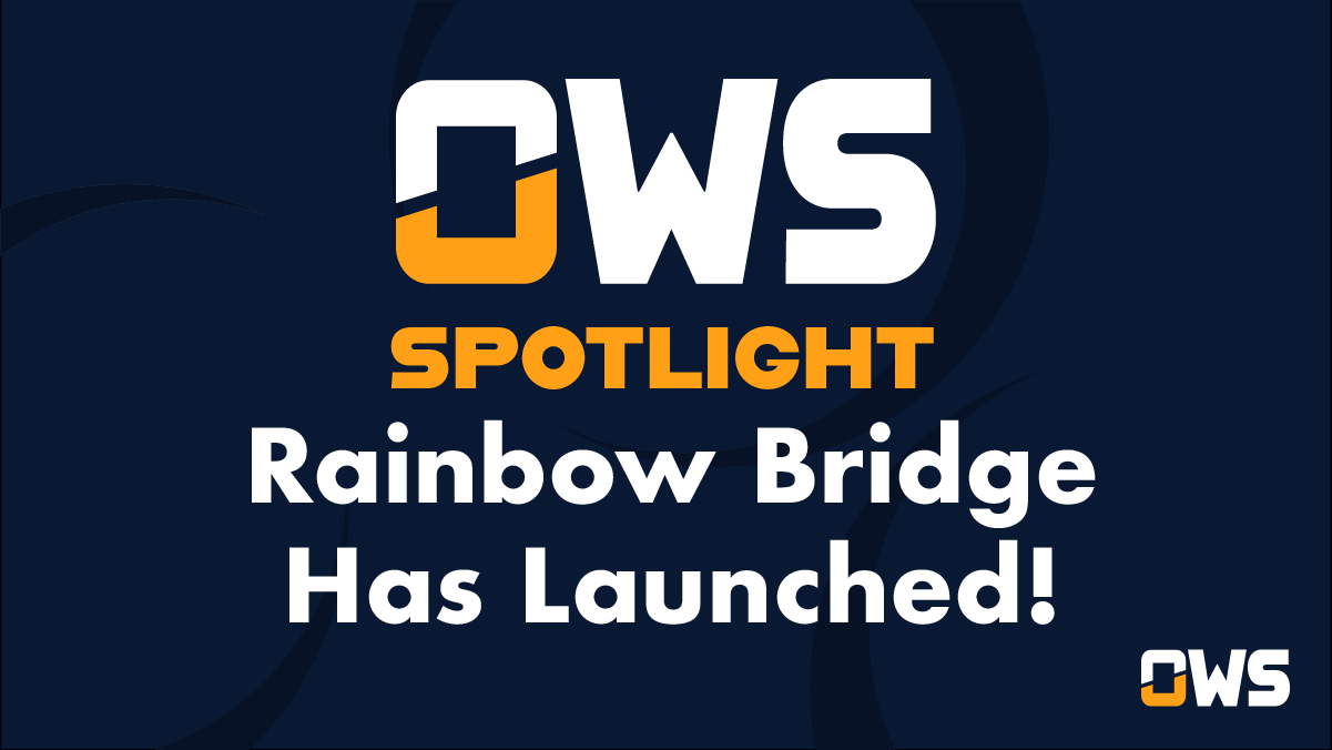 Spotlight in the Open Web Sandbox: The Rainbow Bridge Has Launched!